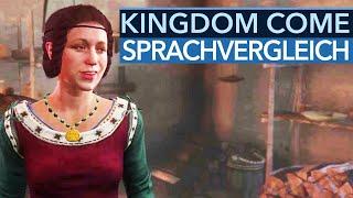 Kingdom Come: Deliverance - Sprachvergleich: deutsche oder englische Synchro?