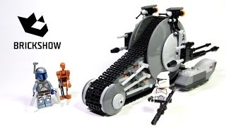 Kijk Lego Star Wars 75015 Corporate Alliance Tank Droid filmpje