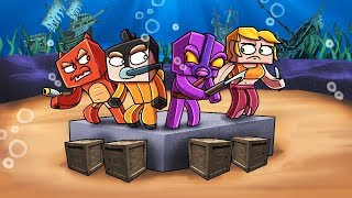 Minecraft | MODDED HUNGER GAMES - Special Underwater Mod! (Team Challenge)