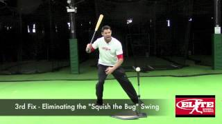 1 Hitting Drill Fixes 5 Flaws - www.elitebaseball.tv - Justin Stone