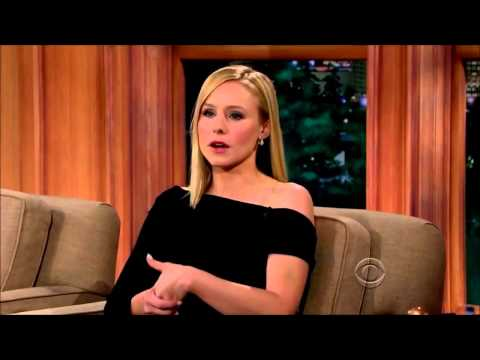 Craig Ferguson HD Kristen Bell, Michael McMillian March 13, 2014