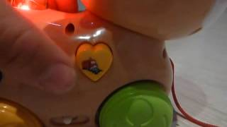 Видео обзор - детская каталка музыкальная - Игра животное (kidtoy.in.ua)(Tongde Игра животное, каталка, 2 вида, муз(рус), в кульке Длина: 26.0 см. Ширина: 22.0 см. Высота: 9.0 см. Заказать: https://vk.co..., 2013-12-13T06:47:36.000Z)