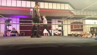 Money Benjamin vs Bubblegum HOPE Wrestling