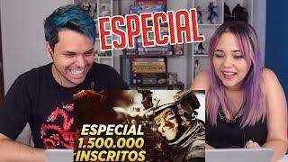 REACT ESPECIAL DE 1 MILHÃO E MEIO | O MESTRE DA SNIPER!!! (Tecnosh)