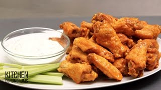 How to Make Restaurant-Style Buffalo Chicken Wings recipe - Video Tutorial