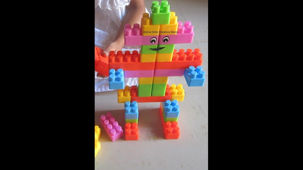 block building for kids block building games robot youtube. Black Bedroom Furniture Sets. Home Design Ideas