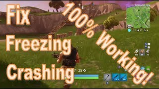 Fortnite - How to Fix Game Crashing/Freezing [Fast, 100% Working!]