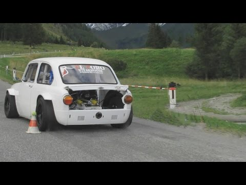 FIAT  850   SPECIAL  180 HP /  PROTO CAR   ACTION          [  HD ]