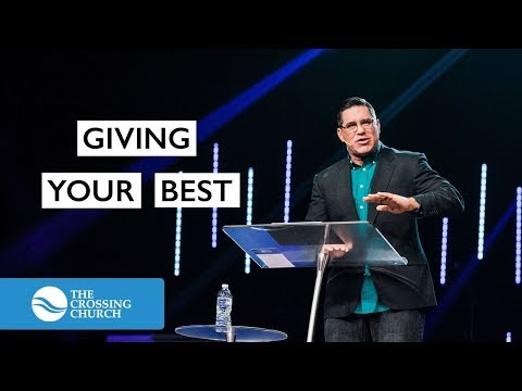 Giving Your Best