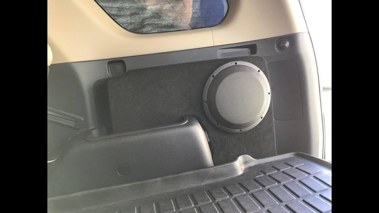 2018 4runner sound system upgrade