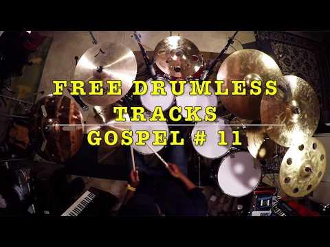 FREE Drumless Tracks: Gospel 011 (www.FreeDrumlessTracks.net)