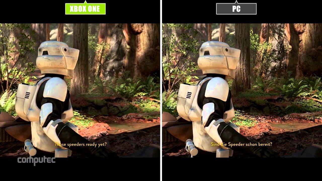 star wars battlefront pc vs ps4 vs xbox one graphics. Black Bedroom Furniture Sets. Home Design Ideas