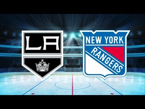 Los Angeles Kings vs New York Rangers (2-4) All goals and Highlights!! [Extended]
