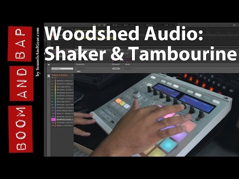 Boom and Bap: Woodshed Audio - Essentials: Shaker & Tambourine Review
