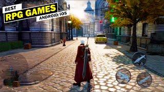 10 Best RPG Gaṁes For Android & iOS 2020/2021 [ARPG/RPG/MMORPG]