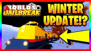 JAILBREAK WINTER UPDATE LEAKED!? ❄️ NEW JAILBREAK MERCH (Roblox Jailbreak)