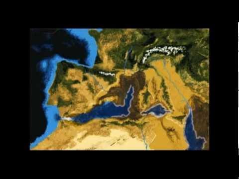Messinian salinity crisis animation