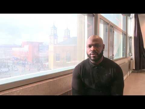 MVX PreDemo interview met Elvin Rigters - Demonstratie tegen Politiegeweld