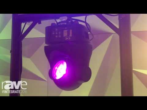 Integrate 2016: TourPro Features Dotti and Dotti Zoom LED Light Fixture On Stand at TLC Global