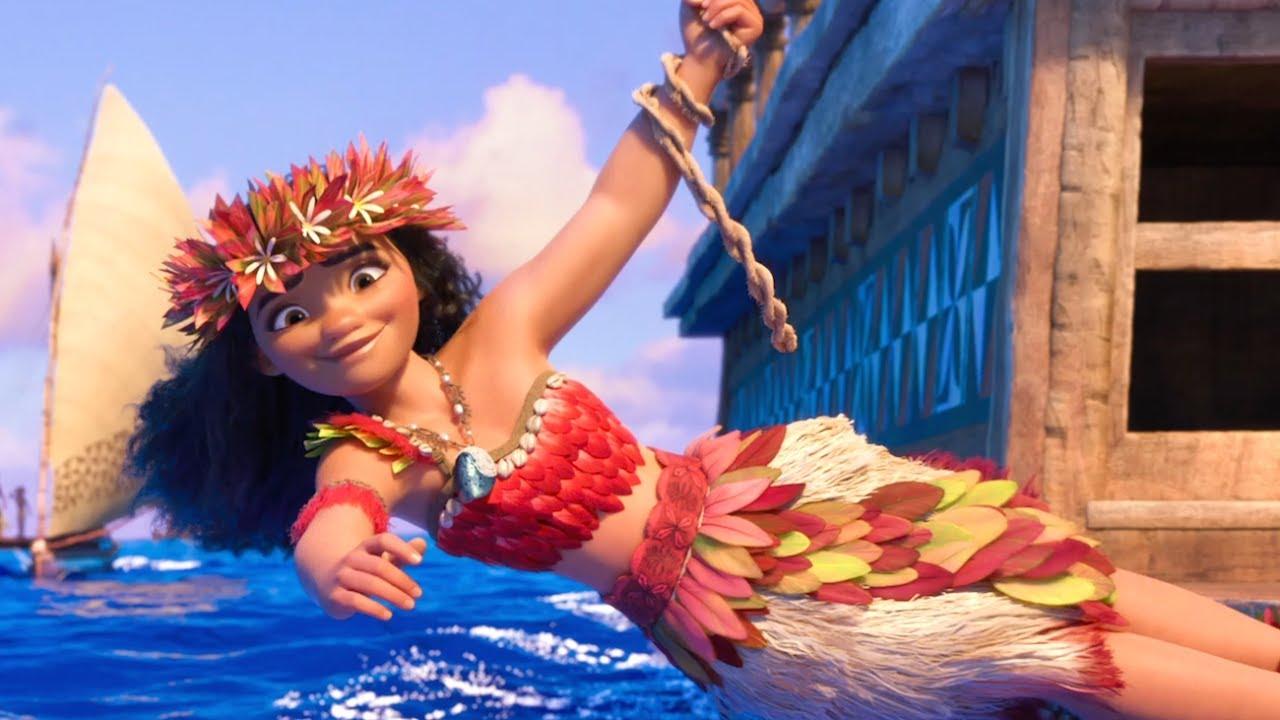 Oceania il costume da guerriera di vaiana featurette