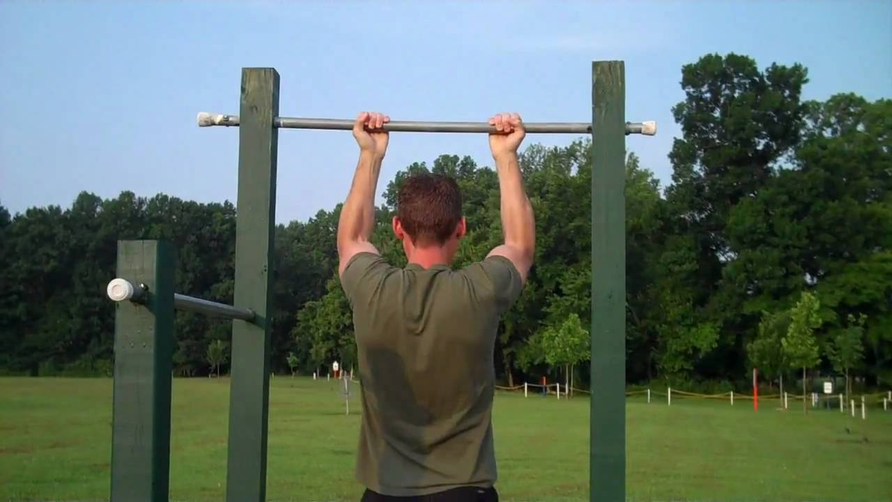 marine corps fitness proper pull ups youtube