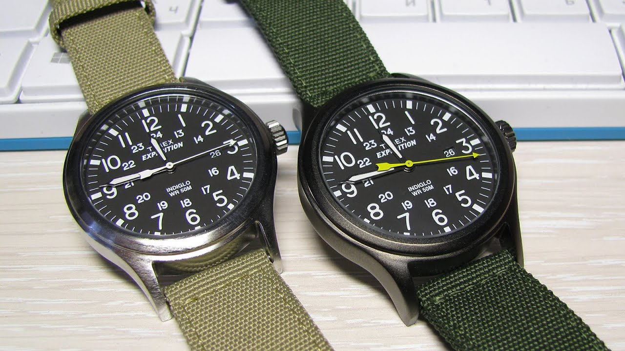 Expedition Vs Timex T49962 T49961 Scout zqSUMGpV