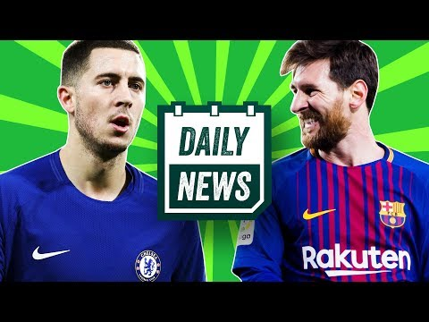 AMAZING UEFA Champions League draw!!! + Hazard and Conte to leave Chelsea ► Onefootball Daily News