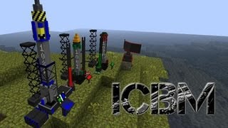 Minecraft ICBM Missiles Mod [Part 2] (InterContinental Ballistic Missliles)