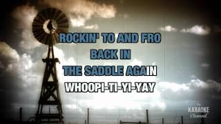 Back In The Saddle Again in the Style of Gene Autry with lyrics (no lead vocal)