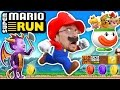 FGTEEV Mario plays SUPER MARIO RUN! Spyro Dragon Kills Bowser + Boom Boom Battle (iOS App Game #1)