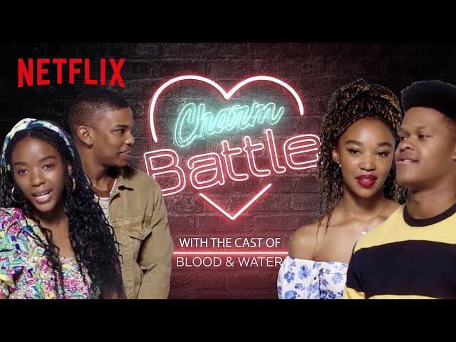 Thabang & Dillon try to Flirt with Ama & Khosi | Blood & Water | Netflix