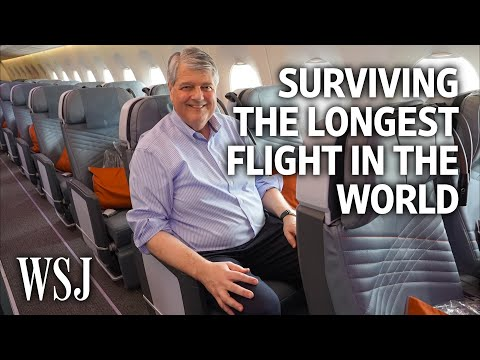 Austin James - How to survive the LONGEST flight in the world!!!