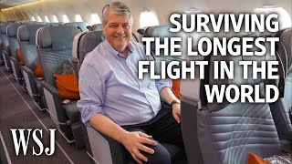 How To Survive The Longest Flight In The World | The Middle Seat
