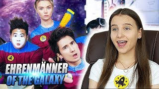 EHRENMÄNNER of the GALAXY I Julien Bam feat. Tanzverbot, Julia Beautx, Rezo / REACTION - Celina