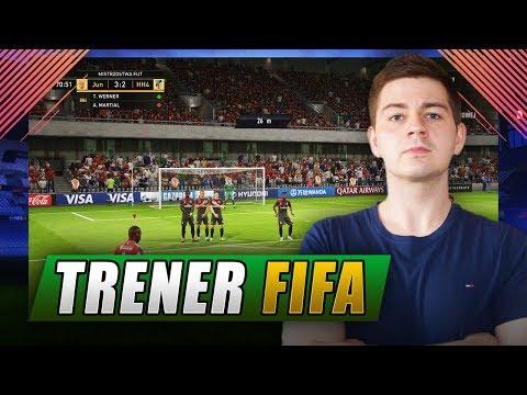 NAJLEPSZY WOLNY W FIFA 18 - TRENER FIFA
