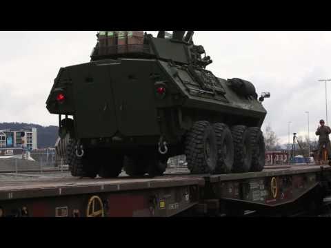 Marines Assemble Equipment from Norwegian Caves for STRATMOBEX 17
