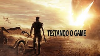 Mad Max Testando o Game PT-BR Ryzen 5 1600-Rx 570 4gb