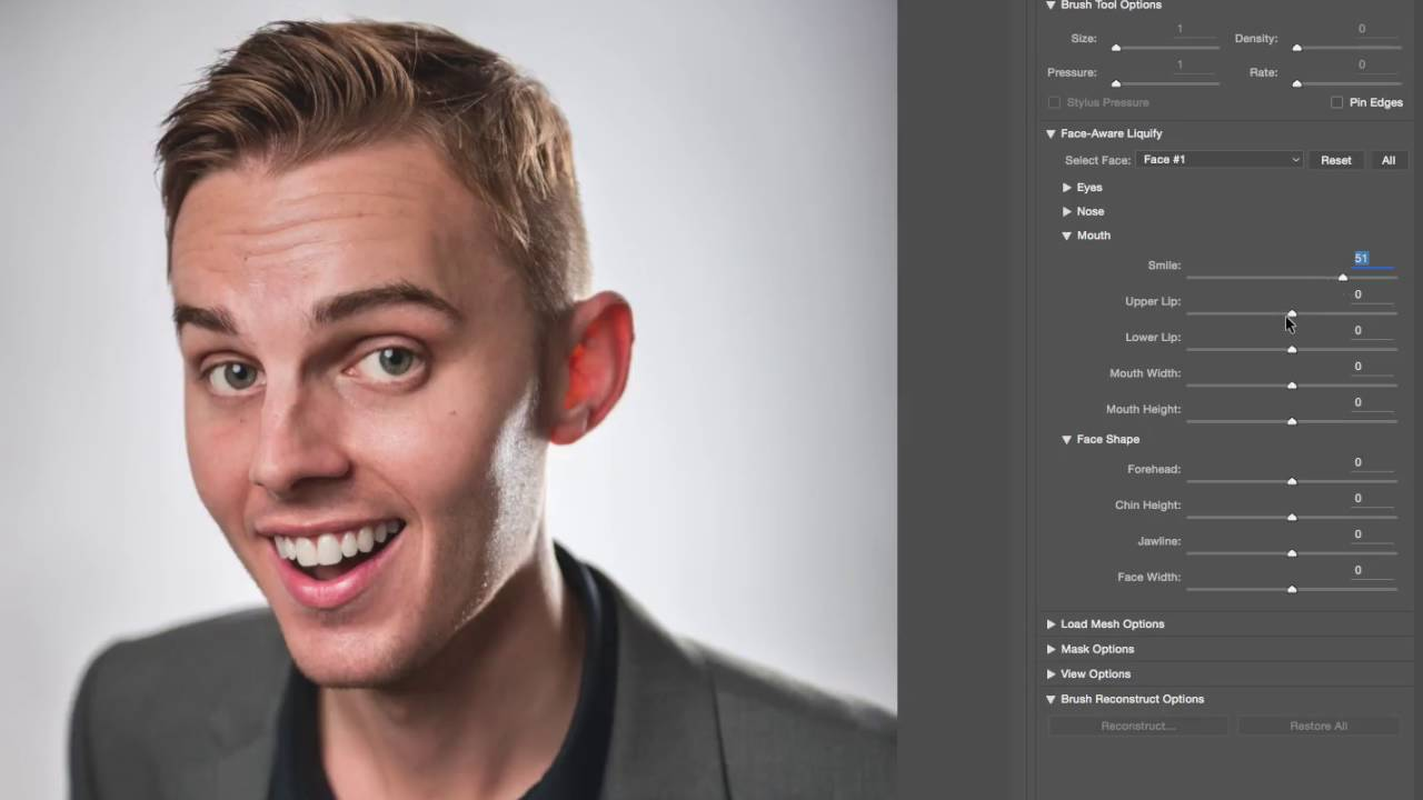 Liquify in new Adobe Photoshop CC 2015.5 - YouTube