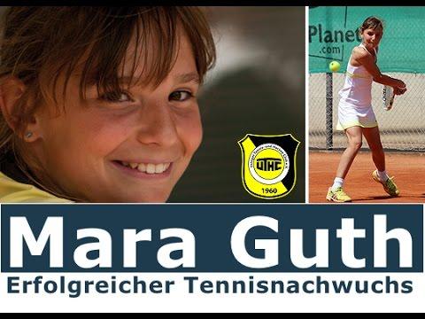 UTHC-TV TENNIS Reportage: Mara Guth vs. Neo Niedner mit Interview 2014