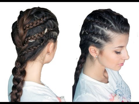 Chic Rockstar Braided Look