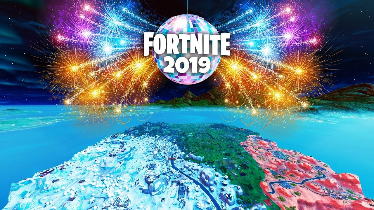 LIVE New Years Event in Fortnite!