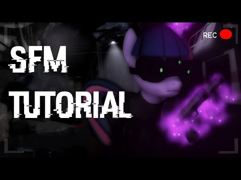 SFM Tutorial Particle systems