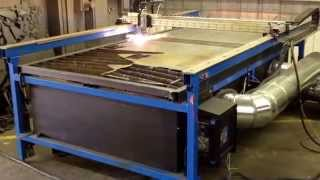 Cnc Plasma Custom Built Downdraft System
