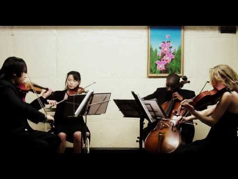 """iconiQ String Quartet - The Wedding (from """"Legends of the Fall""""), Horner (exc.)"""
