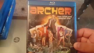 Archer: Seasons 1 - 6 on Blu Ray!