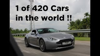 Limited Edition Aston Martin N420 Vantage in India | Racing with Audi R8 | #170