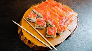 Суши торт Торт Суши Ленивые роллы Sushi cake