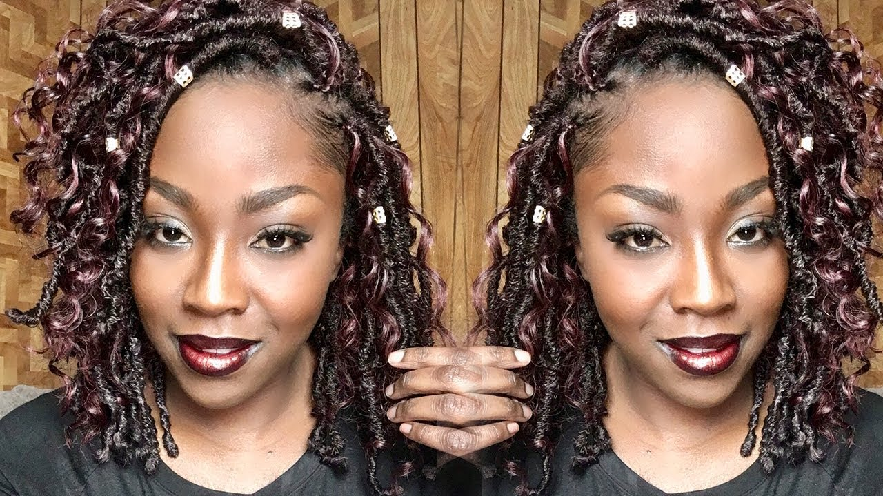 How To Crochet Gypsy Faux Loc Bob Bobbi Boss Nu Loc