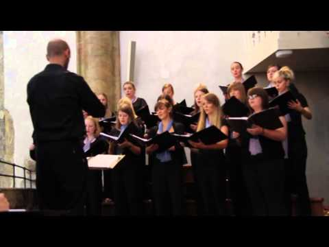 Voices Girls Choir at Tyn Church Prague - Fecit Potentiam