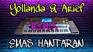 Emas Hantaran Remix-Yollanda & Arief [Karaoke] || Y2 Musical